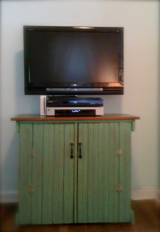 TV stands and Entertainment Centers from Antique Cabinets - TV Stands And Entertainment Centers From Antique Cabinets - NOMADIC